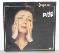 EDITH PIAF Disque d Or vol. 1 LP VINYL 33 Tours EMI 2C 070-72007 Marconi 1980