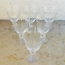 Cristal Daum France six verres Orval Lot 1