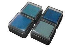 4pk Ink Pads Light Blues