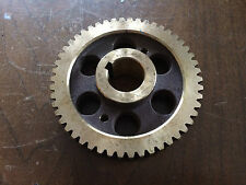 "NOS Delta Horizontal Band Saw Worm Gear p/n 1341004 5-1/8"" dia 20-715"