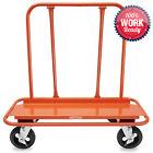 Drywall Sheet Cart - Plywood Panel Dolly Trolley Truck 4 Swivel Wheels