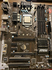 Intel Core i5-6600k & MSI Motherboard