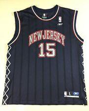 New Jersey Nets Vince Carter #15 Basketball NBA Reebok Jersey SizeL