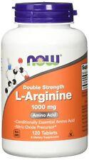 NOW L-Arginine 1000 mg 120 Tablets