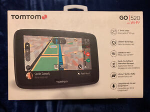 TomTom Go 520 with Wi-Fi 5-Inch GPS with Lifetime World Maps and Traffic etc.