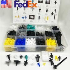 USA 730x Universal Mixed Fastener Car Bumper Door Trim Clamp Push Clip 17 Sizes