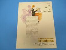 1950 Ladies Home Journal  Leading Home Magazine Habit Leadership Print Ad, PA006