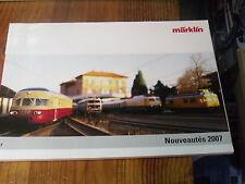 8µ? Catalogue Marklin Nouveautés 2007 en Français