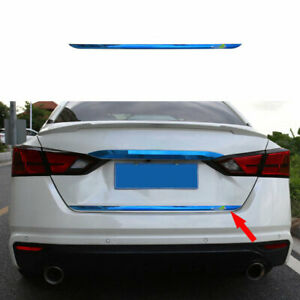 For 2019-2021 Nissan Altima/Teana Steel Blue Rear Tailgate Trunk Lid Cover Trim