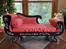 Vintage PET BED Chaise Lounge Oriental Fainting Couch For Small Dog Cat