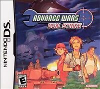 Advance Wars: Dual Strike (Nintendo DS, 2005 GAME CARTRIDGE ONLY, TESTED A+++