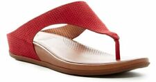 FitFlop Banda SupercomFF™ Cushioned' Perforated Sandal Size 7 Red, MSRP $130