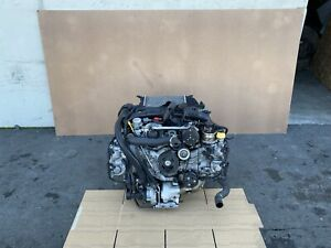 SUBARU WRX 2015-2017 OEM ENGINE 2.0T 4 CYLINDERS AWD (GUARANTEED/ COMPLETE)