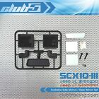 Foldable Side Mirrors / Rear Mirror Set for SCX10 III Jeep JL Wrangler / JT Glad