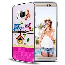 Étui de Portable HTC 10 Étui Coque Housse Sac Motif Slim TPU