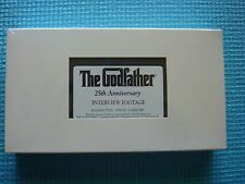 The Godfather Interview Footage NEW SEALED VHS 25th Anniversary 1997