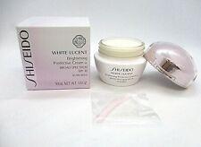 Shiseido White Lucent Brightening Protective Cream w SPF 18 ~   See Description