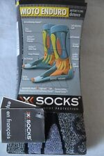 Original Moto Enduro X- Socks Chaussettes  gris 35 - 38 neuf
