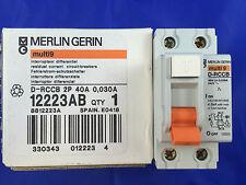 Merlin Gerin Industrial Circuit Breakers