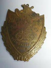 Fireman's Tournament Metal / Antique 1899 Titusville, PA.