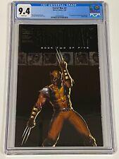 SECRET WAR #2 CGC 9.4 Marvel Comics Wolverine 1st appearance of Quake 7/04