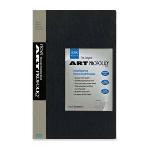Itoya The Original Art Profolio 8.5x11 inch 48 Pictures Black
