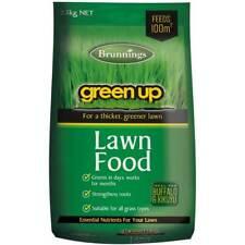 Green Up Lawn Food Fertiliser 2.5kg Brunnings Fertilizer Blend Grass Pasture
