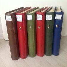 6x Kabe Album + Vordrucke 1949-2001 1960-1997 dual  + BRD Sammlung ** / O