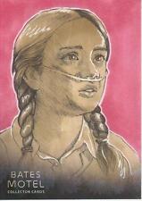 Bates Motel - Sketch Card Drawn by Gabby Untermayerova # 1