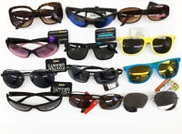 Lot-Of 100 Pairs Of Assorted Adult Men's & Women's Sunglasses