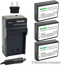 LP-E10 Battery & Regular Charger for Canon EOS Rebel T3 T5 T6,Kiss X5, Kiss X70