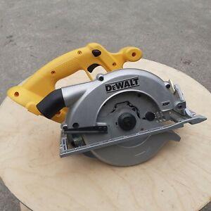 Dewalt DC390 Cordless 18V Circular Saw Bare Unit (Older Battery Type)