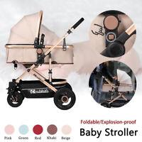 Foldable Lightweight Baby Stroller Pram & Bassinet Stroller Newborn   *+ ☆