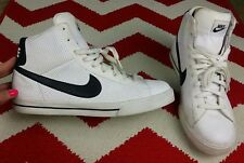 Nike Mens Shoes Sweet Classic White Black High Top Basketball Shoes 354701 Sz 14