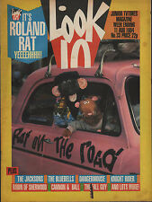 Look-In Magazine 11 August 1984     The Jacksons     The Bluebells    Roland Rat