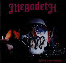 MEGADETH Killing Is My Business... And Business Is Good! 25DP 5343 OBI '88 s4903