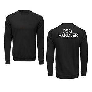 Dog Handler Sweatshirt Workwear Small Business Uniform Industrial Office Jumper