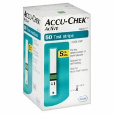 ACCU-CHEK Active 50 Test Strips Exp. 07/2020 Diabetic Blood Medical check