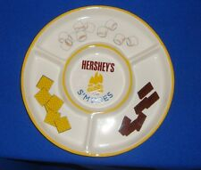 Hershey's S'mores Ceramic Divided Party Dish Tray 12""
