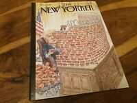 New Yorker Magazine Jan 28th 2019 Trump Walled In John Cuneo Front Cover