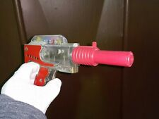 VINTAGE SPACE RAY ASTRONAUT MARS TOY GUN SKELETON FRICTION MOVING GEARS INSIDE