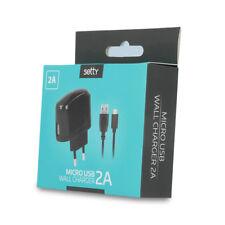 Universal Ladestecker 100-240 Volt 2A + 1m micro USB Kabel 30359 setty Netzgerät