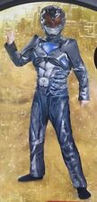 Power Rangers Black Ranger Costume 2 Pc. Boys Size Medium (8-10) Halloween