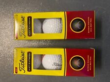 Titleist Nxt Extreme Golf Balls 2 3ct sleeves, Brand New!