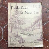 Rivista Franche-Comté E Monti jura Graff N°59 Giugno 1924