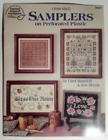 Cross Stitch Samplers on Perforated Plastic 9 Patterns Bless Our Home Love