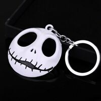 Jack Skellington Nightmare Before Christmas Enamel Keyring Keychain Gift Bag