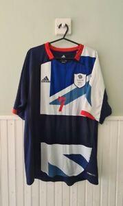 Team GB 2012 Olympics Cleverley 7 Home Football Shirt Size Medium