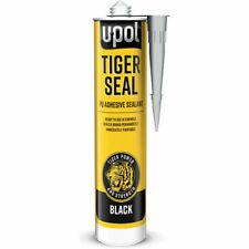 U-POL Tiger Seal BLACK, Adhesive Sealant,  PU Sealer  Glue.310ml
