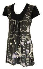 Unbranded Round Neck Short Sleeve Dresses for Women